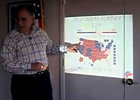 Allen Alley's electoral map