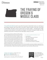 Read About and Speak Out for the Middle Class