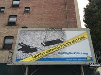 Portland Police Association Billboards: Misguided & Hurtful