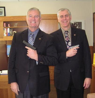 Andy Olson and Bruce Hanna