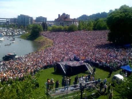 Portland, Oregon: America's most patriotic city